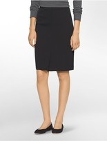 Calvin Klein Soft Stretch Suit Skirt