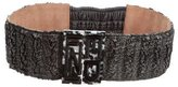 Fendi Coated Ponyhair Belt