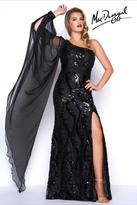 Mac Duggal Fabulouss - 77117 One Sleeve Gown In Black