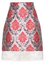 Mary Katrantzou Renzie brocade and translucent skirt