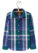 Joules Kids' Checked Shirt.