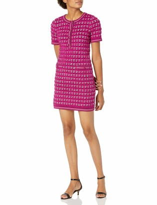 Milly Women's Tweed Fitted Dress