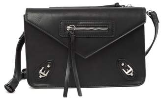 Urban Expressions Zipped & Buckled Crossbody Bag