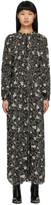 Etoile Isabel Marant Black Estine Mid-Length Dress