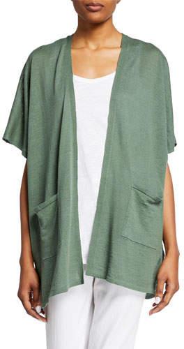 fc921bcbbc0 Plus Size Short Sleeve Cardigan - ShopStyle