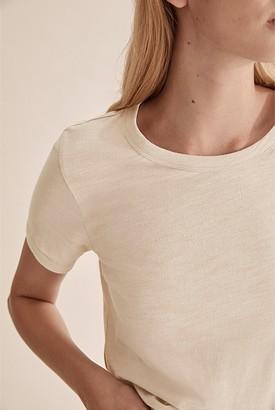 Country Road Short Sleeve Cotton Slub T-Shirt