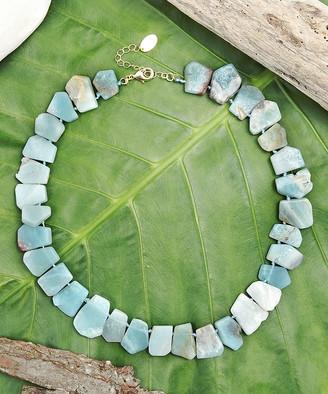 Katherine Winters Women's Necklaces Green - Green Amazonite Amita Statement Necklace