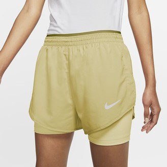 Nike Women's 2-in-1 Running Shorts Tempo Luxe