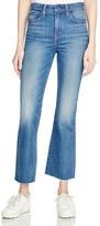 Levi's Crop Kick Flare Jeans in Indigo Junkie