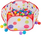 Hey Play Hey! Play! Kids Pop-up Six-sided Ball Pit Tent