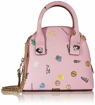 Borbonese Women's 963862I76 Top-Handle Bag Pink Pink (ROSA U79)