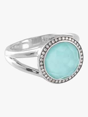 Ippolita 925 Lollipop Mini Ring with Dia Pave