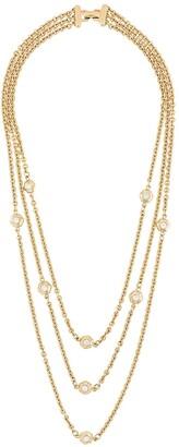Guy Laroche Pre-Owned 1980s triple chain necklace
