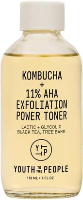 YOUTH TO THE PEOPLE Kombucha + 11% AHA Exfoliation Power Toner