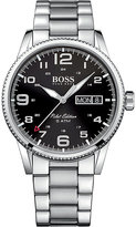 HUGO BOSS 1513327 pilot stainless steel watch