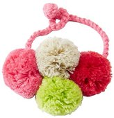 Girls Handcrafted Crochet Charm Bracelet