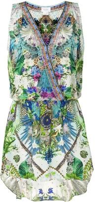 Camilla Moon Garden wrap dress