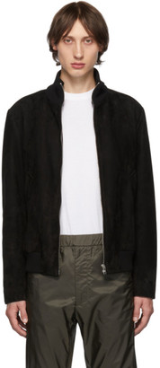 Prada Black Suede Jacket