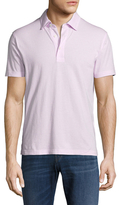 Brooks Brothers Bird's Eye Slim Fit Cotton Polo