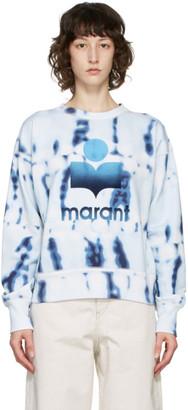 Etoile Isabel Marant Blue Tie-Dye Mobyli Sweatshirt