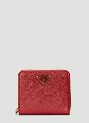 Prada Small Zip Up Wallet