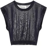 Bogner Sleeveless knit crop top