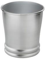 Threshold Brushed Metal Wastebasket - Silver
