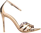 Gianvito Rossi Metallic Sandals