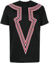 Les Hommes printed T-shirt