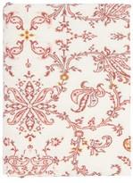D'Ascoli Begum 224cm X 315cm Paisley Linen-blend Tablecloth - Multi