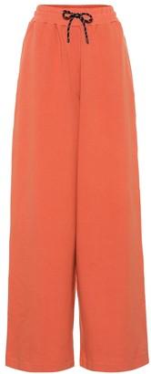 Dries Van Noten High-rise cotton track pants