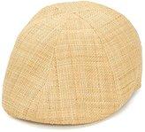 San Diego Hat Company San Diego Hat Co. Men's Raffia Straw Driver Hat with Stretch Band