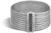 John Hardy Classic Chain Nine Row Bracelet with Black Sapphire