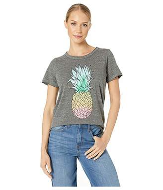 Chaser Pineapple Dream Tri-Blend Short Sleeve Crew Neck Tee