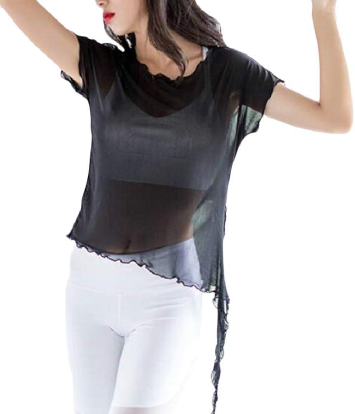 e18e574a8d See-through Sheer Top - ShopStyle Canada