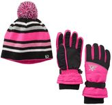 ZeroXposur Girls 4-16 Jena Ski Glove & Hat Set