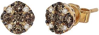 LeVian Le Vian Chocolatier 14K 0.62 Ct. Tw. Diamond Earrings