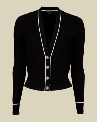 Ted Baker Ribbed Knitted Cardigan