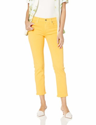 Hudson Women's Nico Mid Rise Slim Fit Straight Leg Ankle Jean