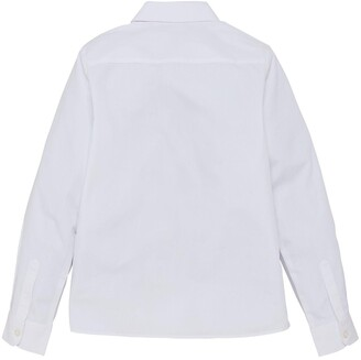 Very Girls 3 Pack Long Sleeve School Blouses - White