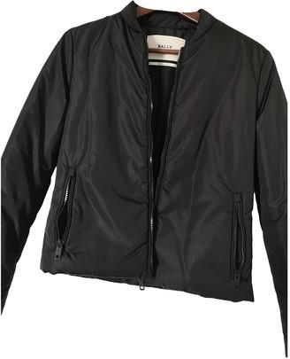 Bally Black Synthetic Jackets