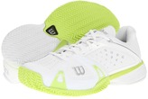 Wilson Rush Pro CC (White Green) - Footwear