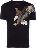 Neil Barrett eagle print T-shirt - men - Cotton - M