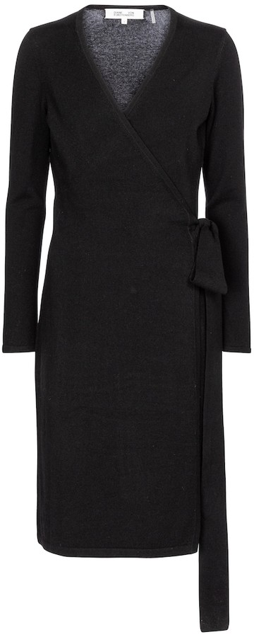 Diane von Furstenberg Linda wool and cashmere midi dress