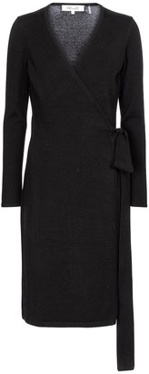 Diane von Furstenberg New Linda wool and cashmere midi dress
