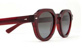 AHLEM Grenelle Burgundy Sunglasses