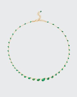 Fernando Jorge Flicker Emerald Necklace in 18K Yellow Gold