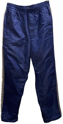 Opening Ceremony Blue Synthetic Trousers