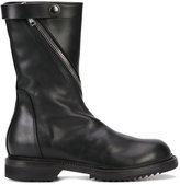 Rick Owens biker boots - men - Leather/rubber - 41