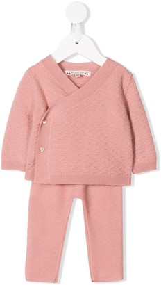 Bonpoint Knitted Tracksuit Set